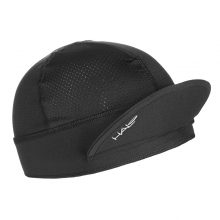 Black Halo Cycling Cap with front up