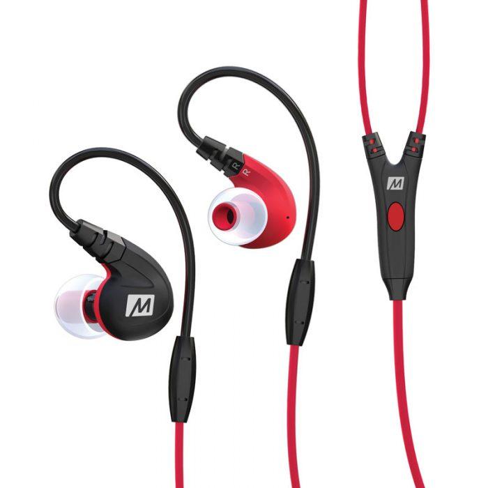 M7P Headphones Red