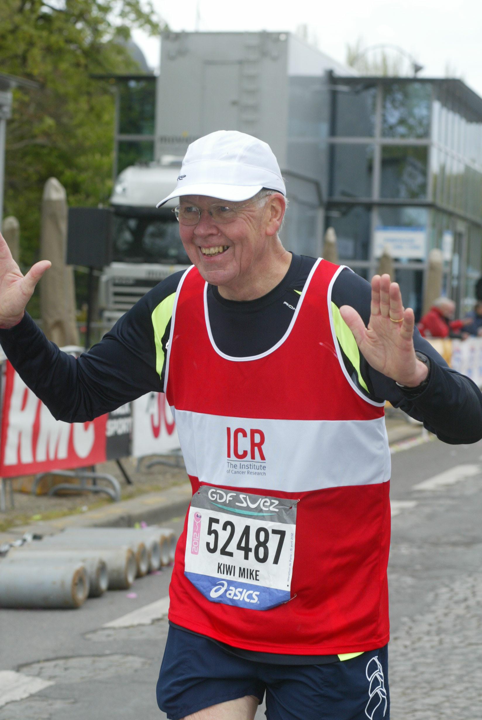 Mike's Paris Marathon