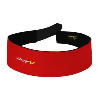Red Halo V (Velcro) Headband