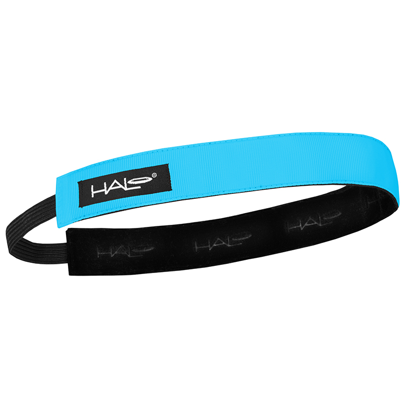 1 Inch Hairband Blue