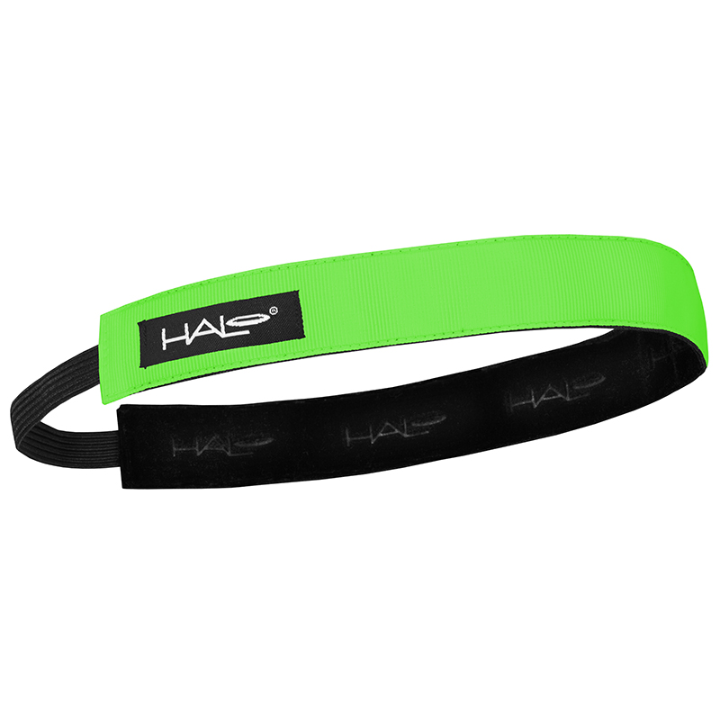 1 Inch Hairband Green
