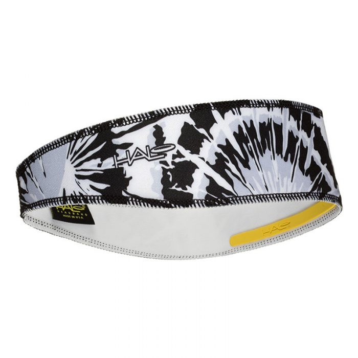 Black Tie Dye Halo II Headband