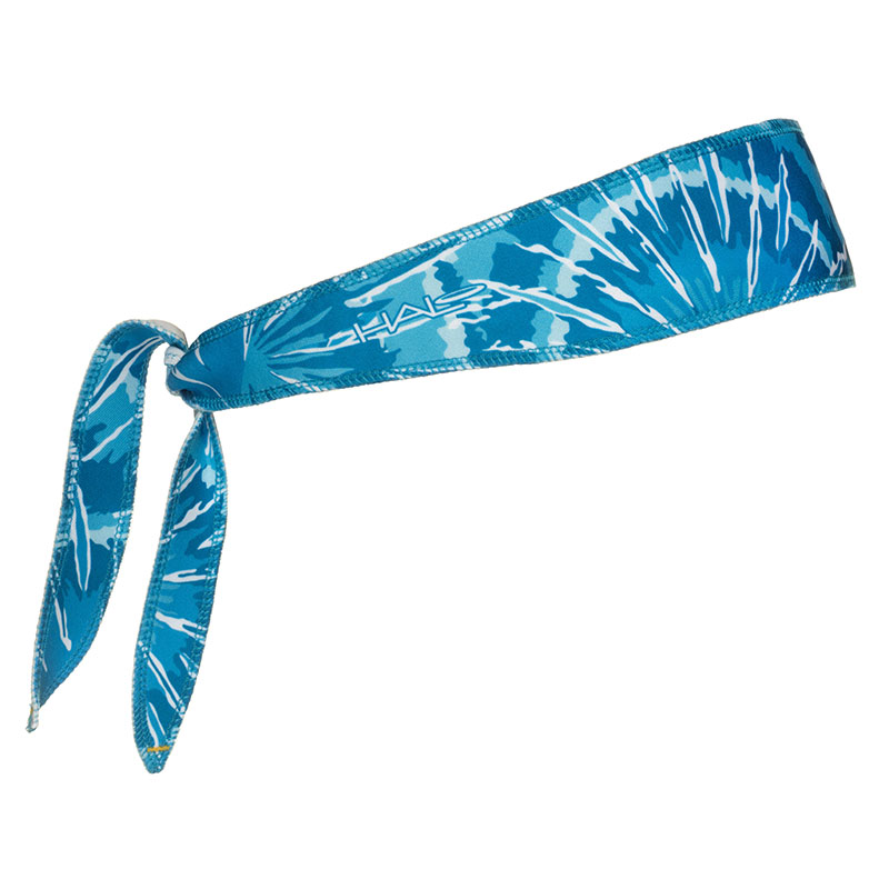 Blue Tie Dye Halo I Headband