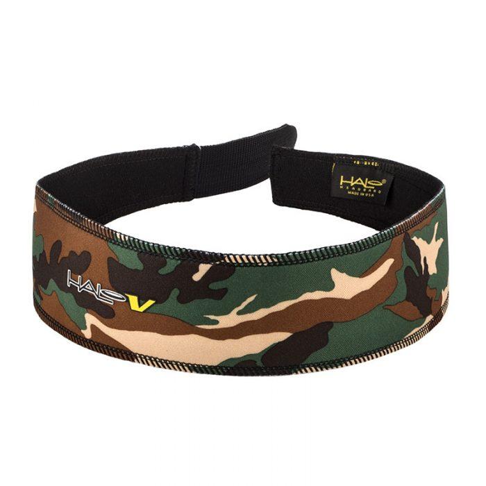 Camo GreenHalo V (Velcro) Headband