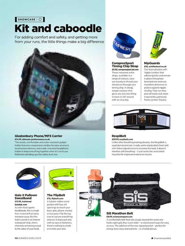 Gear Accessories March 13 Runners World