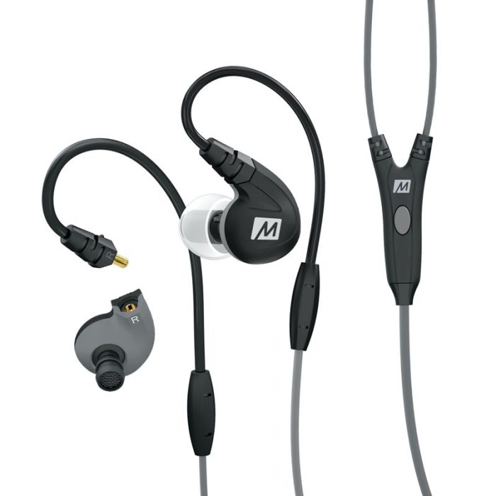 M7P Headphones Black Detach
