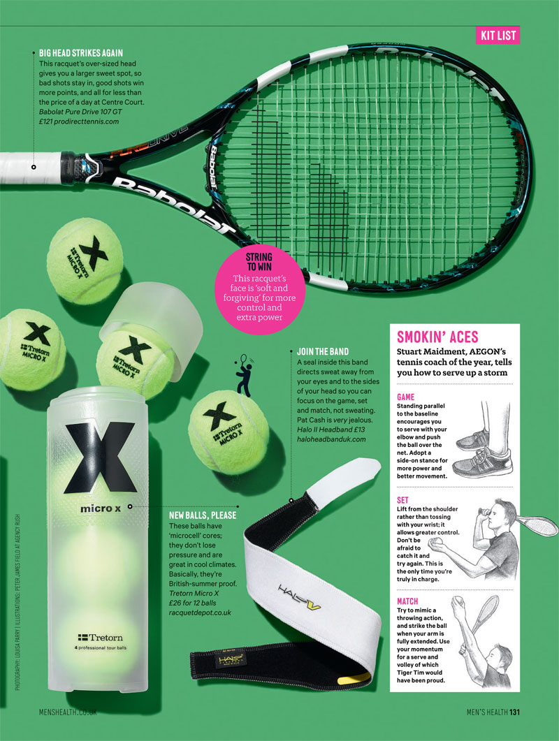 Mens Health Tennis