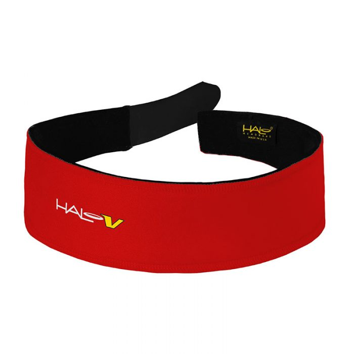 Red Halo V (Velcro) Headband