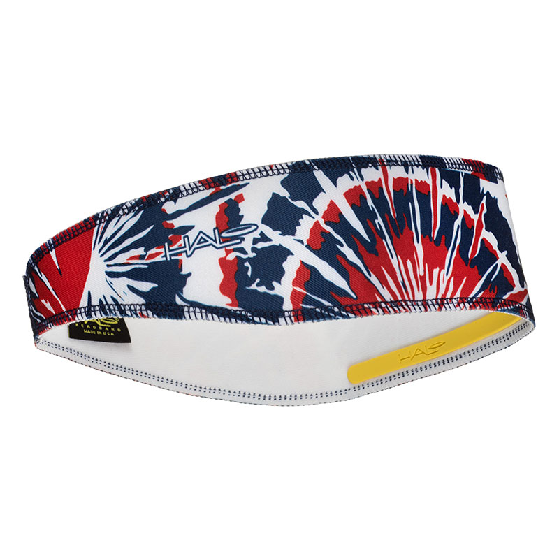 Red, White and Blue Tie Dye Halo II Headband