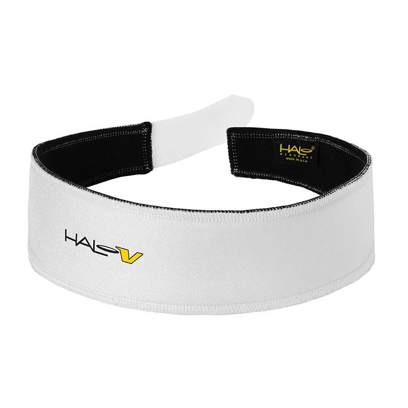 White Halo V (Velcro) Headband