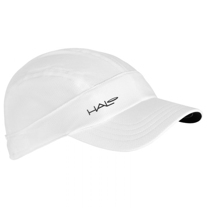 White Halo Sports Hat