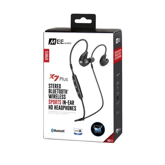 X7 Plus Headphone Packaging